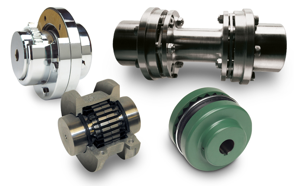 Here are the different types of couplings