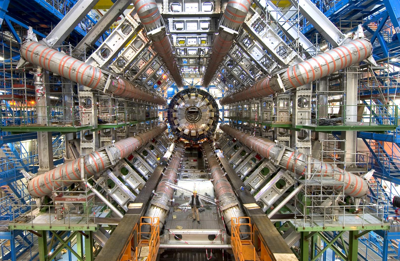 LHC - biggest machines out of top 10