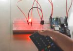 Control LED with IR remote