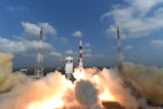 PSLV-C37 lift off; sets a world record by launching 104 satellites