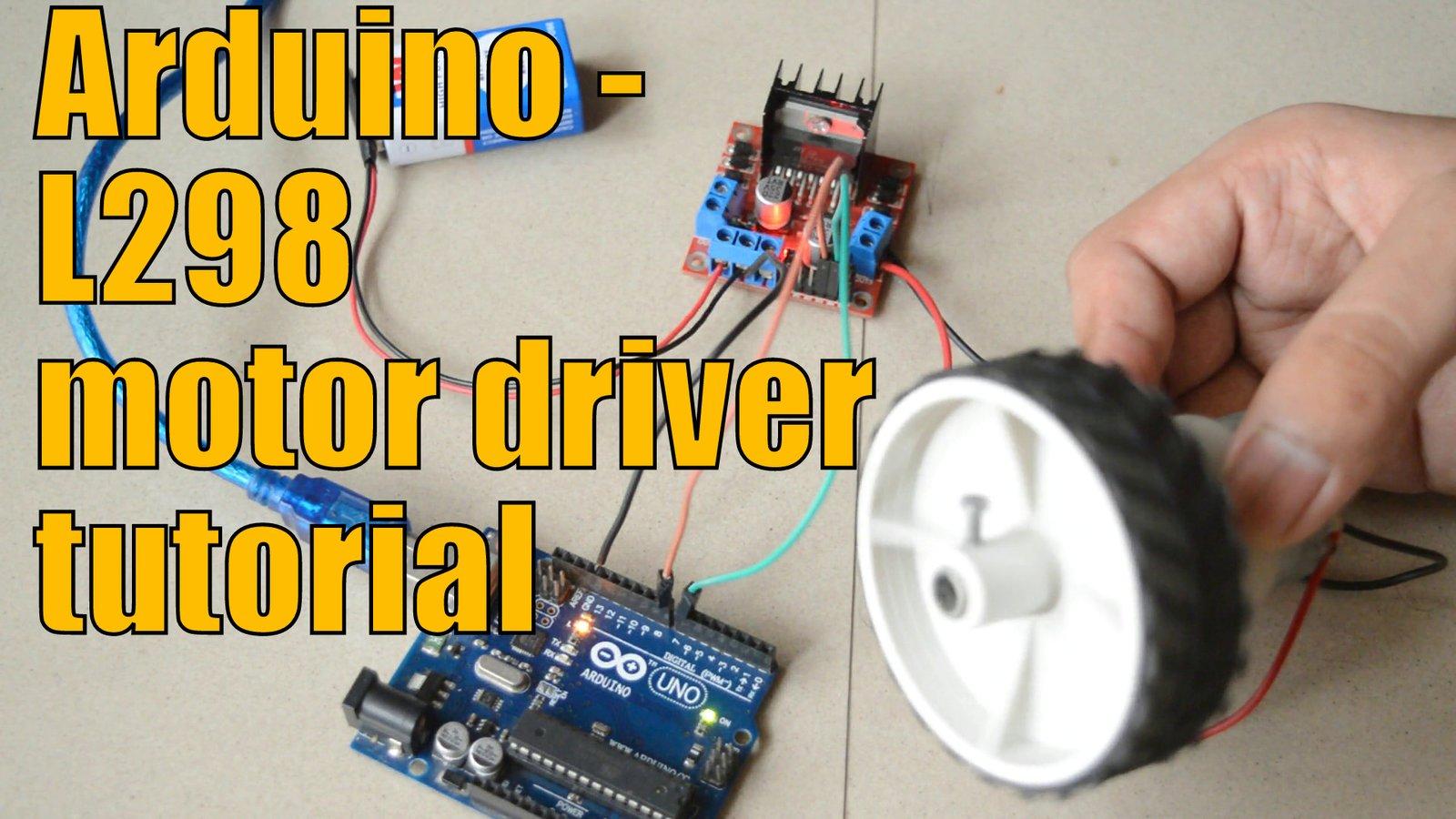 motor driver L298N tutorial