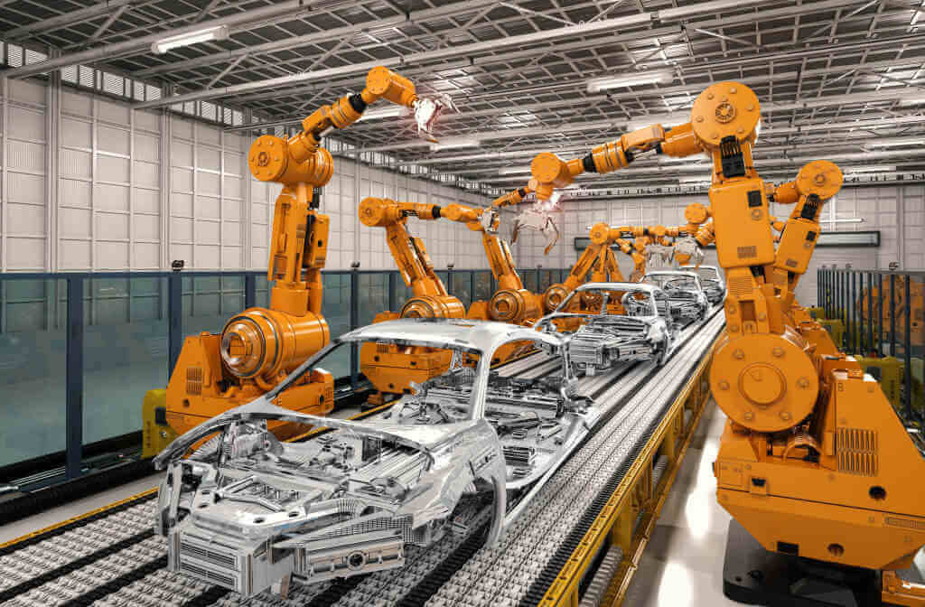 how robots have changed the manufacturing industry